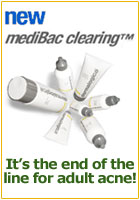 NEW! End Adult Acne with NEW mediBac clearing!